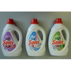 Savex 1,3L - Течен перилен препарат
