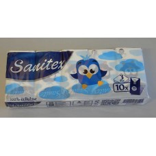 Носни кърпи | Sanitex