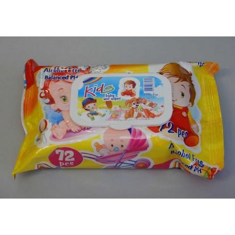 Мокри кърпи с капак | KIDS