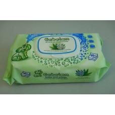 Мокри кърпи с капак   Bebelan